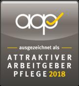 Siegel_AAP_ausgezeichnet_2018_Schrift